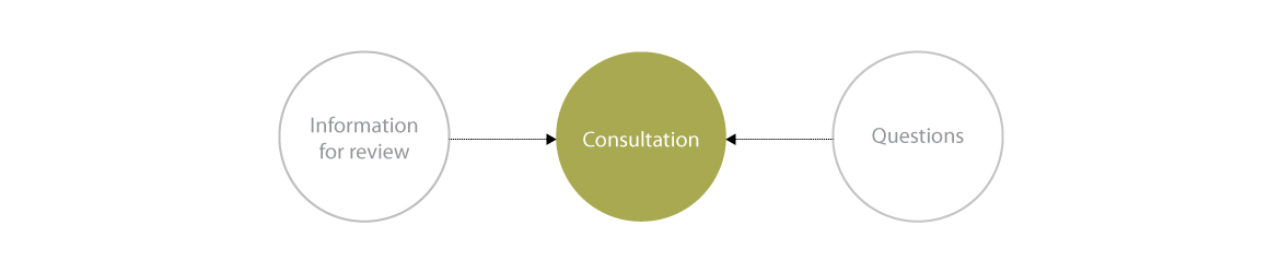 Typical Consultation flowchart – See outline after image